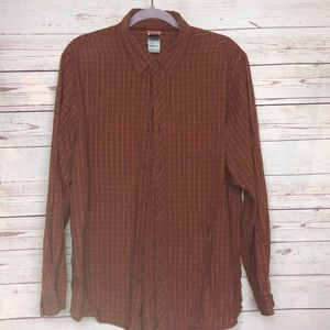 The North Face Long Sleeve Button Up Shirt Size L